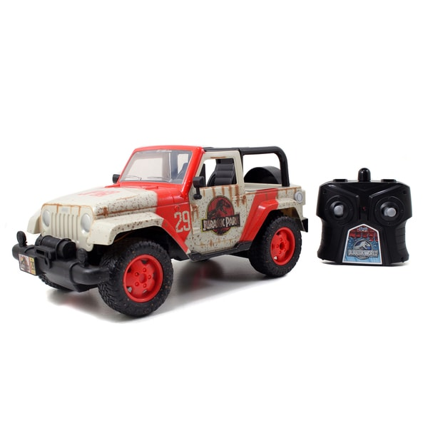 Jada Toys Jurassic World 1/16 Scale RC Jeep
