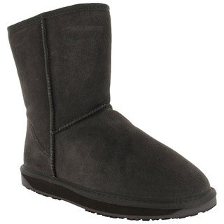 BooRoo Womens Eva Suede Merino Wool Winter Snow Boots