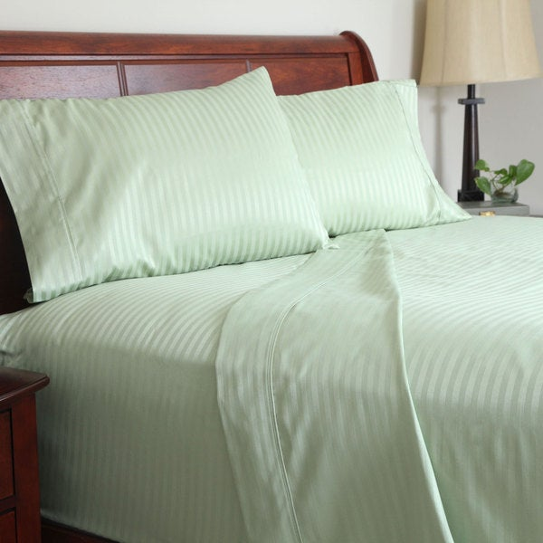 Windsor Home 300 Thread Count Cotton Sateen Sheet Set (Full)