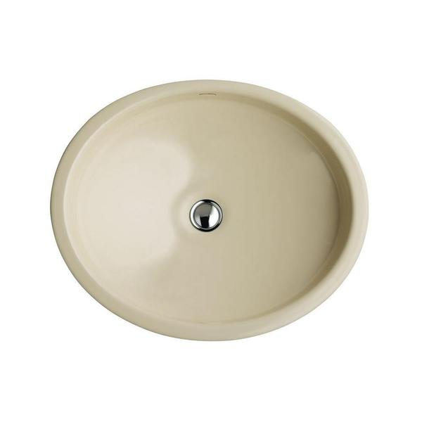 Kohler Canvas Lavatory in Biscuit