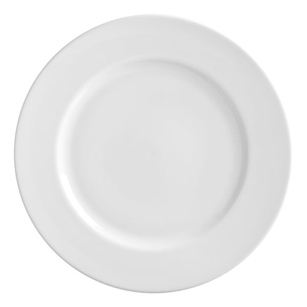 10 Strawberry Street Royal White Charger Plate Set of 6