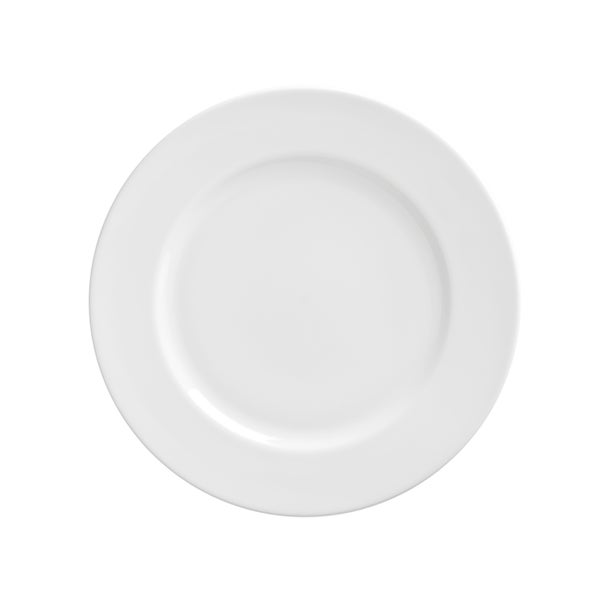 Royal White Luncheon Plate Set of 6