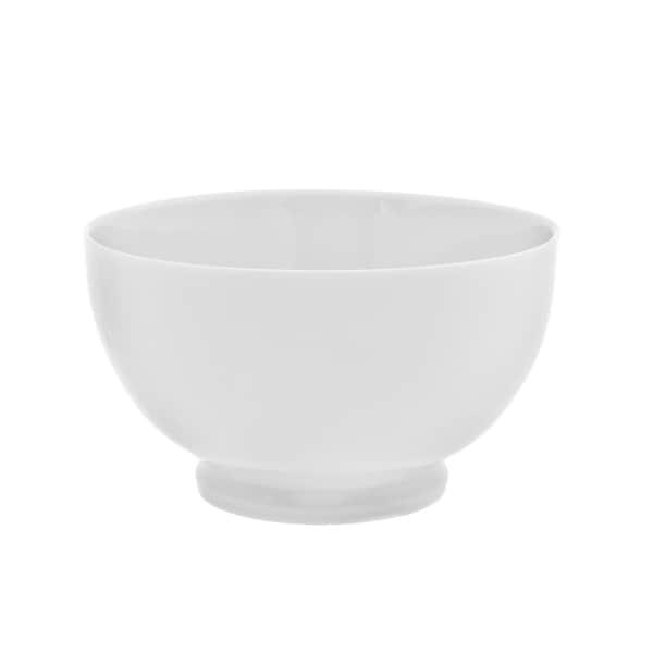 Royal White Footed Rice Bowl Set of 6