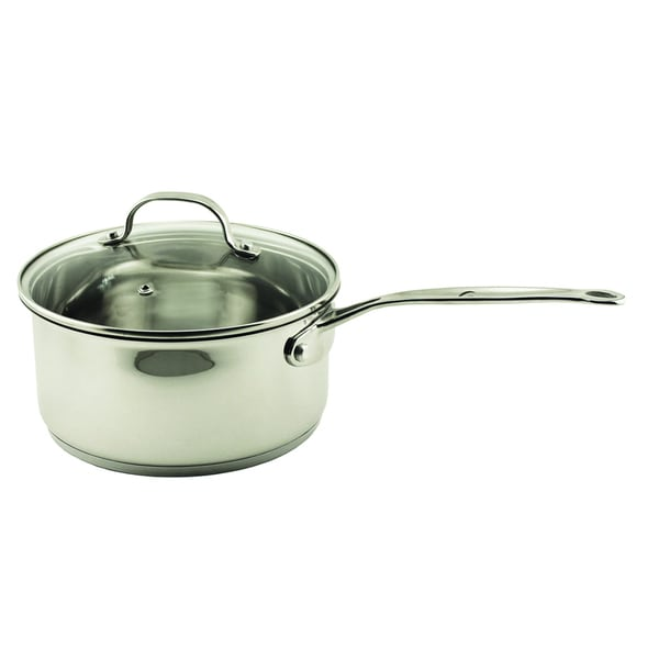 EarthChef Premium Glass Covered 1.5 Quart Saucepan/Glss Lid