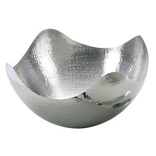 Elegance Hammered Wave Bowl, 10 inches