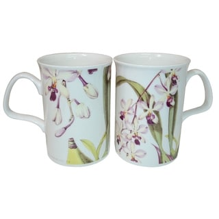 Roy Kirkham Lancaster Mug - Orchids RBG (Set of 6)