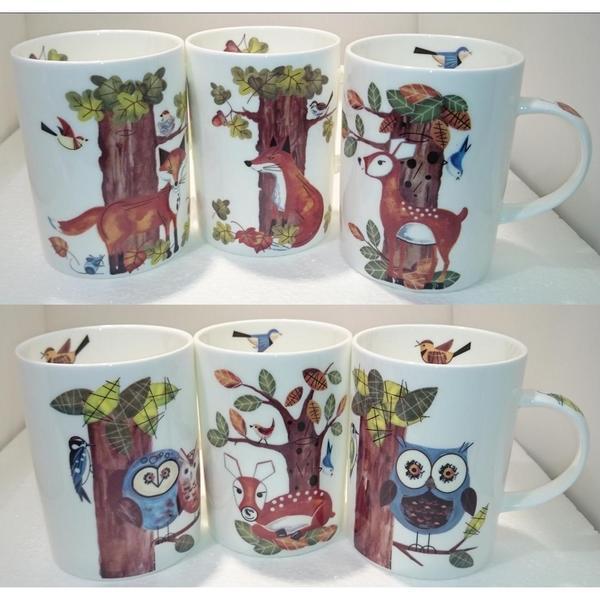 Roy Kirkham Lyric Mug - Natures Way (Set of 6)