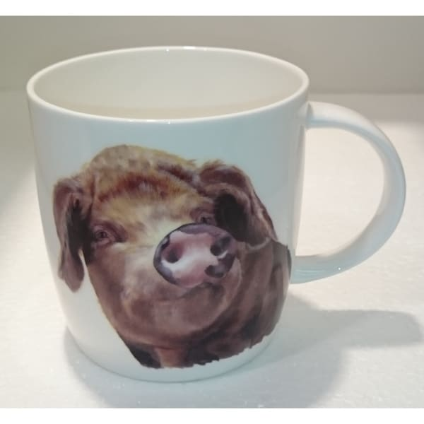 Roy Kirkham Sophie Mug - Farm Animal Pigs (Set of 6)