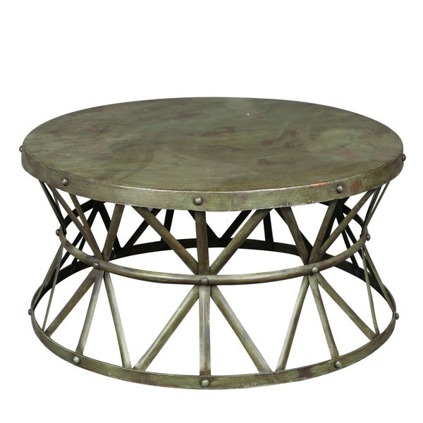 Industrial Coffee Table Green (India)
