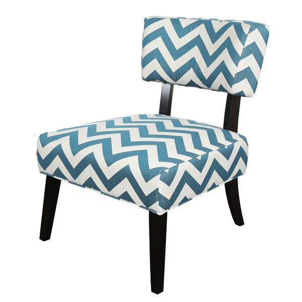 Porter Eastlake Teal and White Woven Chevron Accent Chair  : Teal Chevron Accent Chair 2d49e187 7fa0 48f9 9ad7 5d92ad454645600 from www.overstock.com size 600 x 600 jpeg 56kB