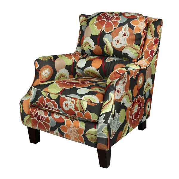 Zoe Floral Accent Chair