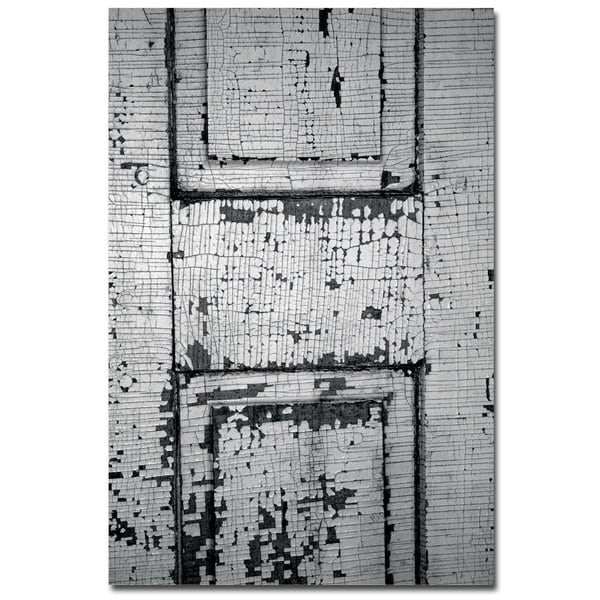 Patty Tuggle 'Chippy Paint' 14x19 Canvas Wall Art