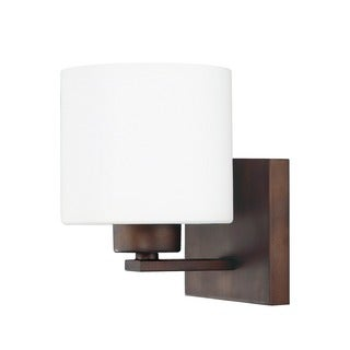 Capital Lighting Steele Collection 1-light Burnished Bronze Wall Sconce