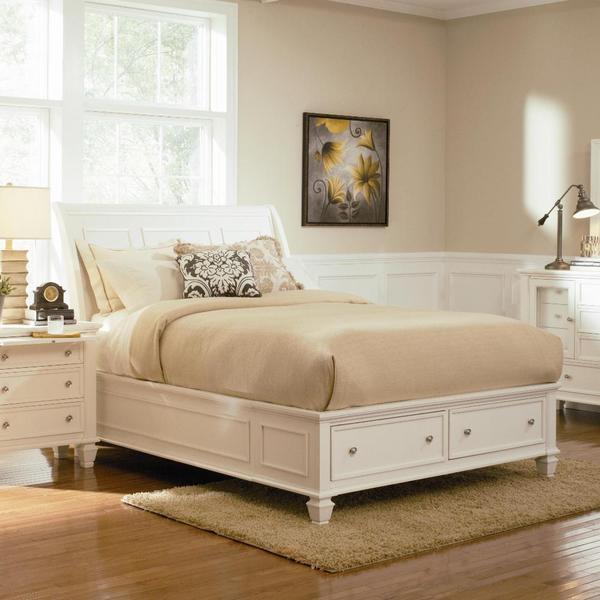 Nicholson 5-piece White Bedroom Set