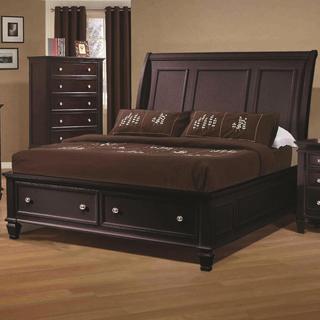 Nicholson 5-piece Cappuccino Bedroom Set