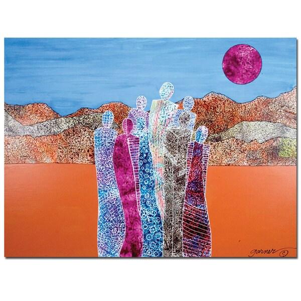 Garner Lewis 'The Valley of Unity by Garner Lewis' 32x24 Canvas Wall Art