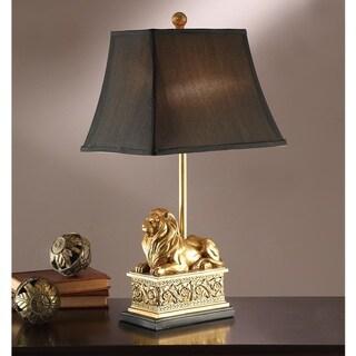 Golden Lion Table Lamp (Set of 2)