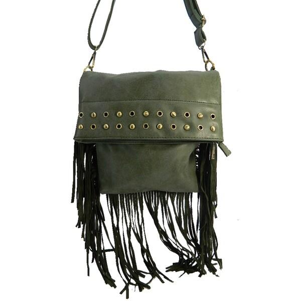 Lady Fringe Crossbody Bag