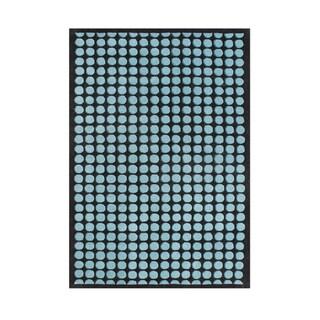 Alliyah Handmade Peacock Blue/ Black New Zealand Blend Wool Rug (8' x 10')