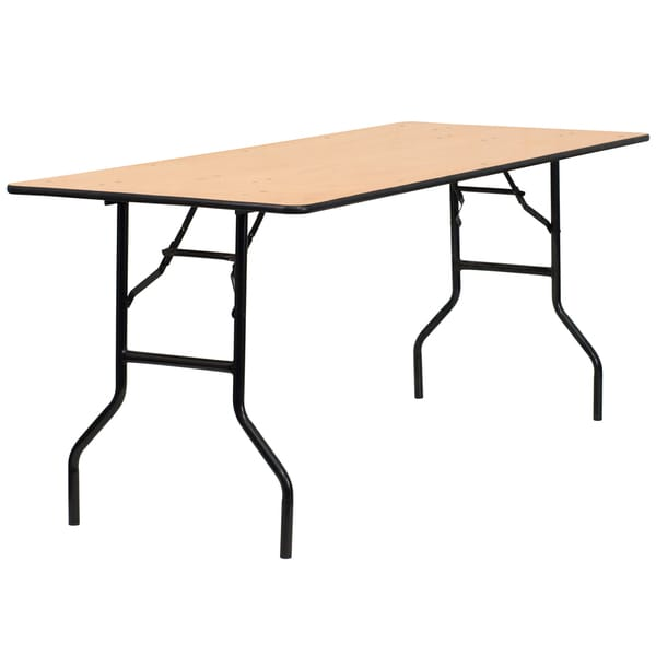 Natural Wood folding table