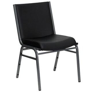 Hercules Series Black Metal Stack Chair