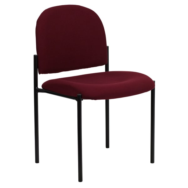 Fabric Steel Metal Stack Chair