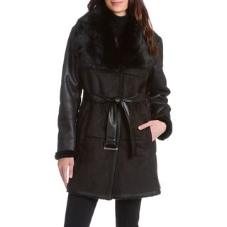 Nuage Alta Faux Shearling Coat