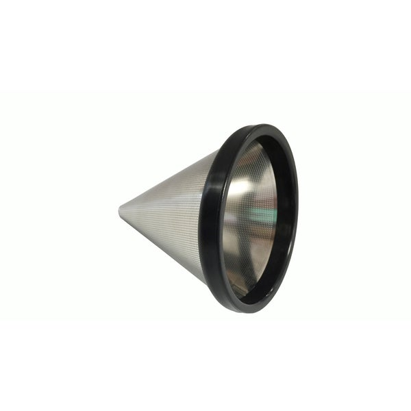 Think Crucial Washable & Reusable Stainless Steel Cone Coffee Filter Fits Chemex-Brand 3 Cup Coffee Makers 16359795