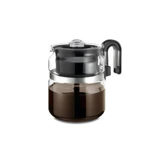 Glass Tea and Coffee Stovetop Percolator 8-cup