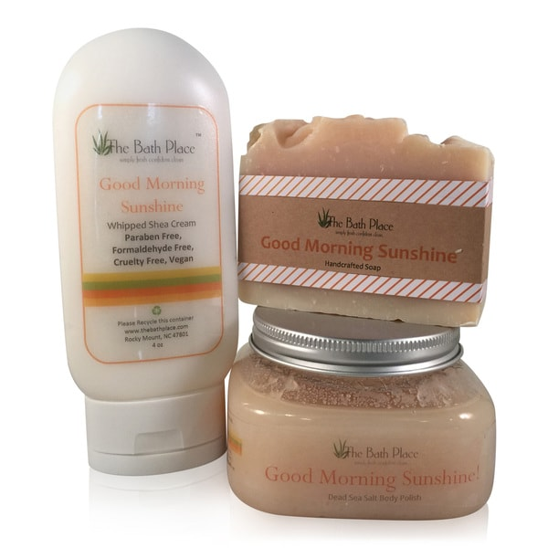 Good Morning Sunshine Energizing Bath and Body Trio