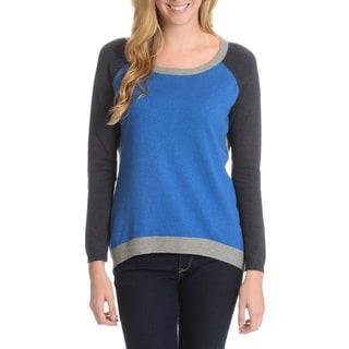 Cyrus Women's Long Sleeve Color Block Sweater