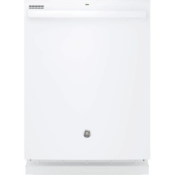 GE Hybrid Stainless Steel Interior Dishwasher with Hidden Controls