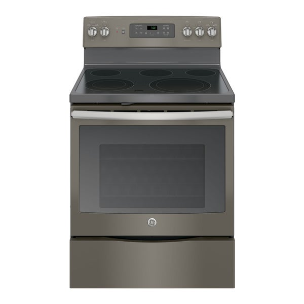 Ge 30 inch free standing electric convection range 17690819 shopping big - Inch electric range reviews ...