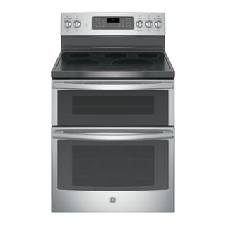 GE 30-inch Free-standing Electric Double Oven with Convection Range