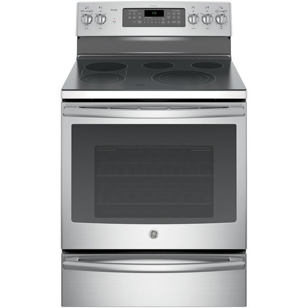 Ge profile 30 inch free standing electric convection range with warming drawer 17690823 - Inch electric range reviews ...