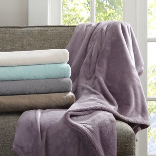 Madison Park Oversized Microlight Plush Throw
