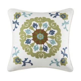 Harbor House Arietta Cotton Square Pillow--18x18