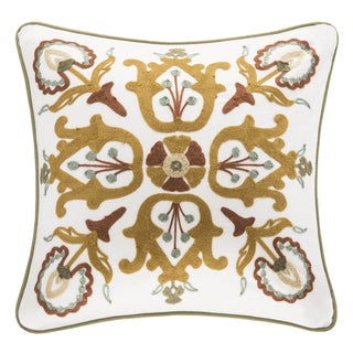 Harbor House Arabesque Cotton Square Pillow