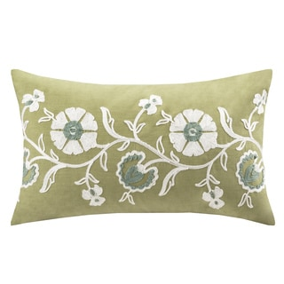 Harbor House Arabesque Cotton Oblong Pillow