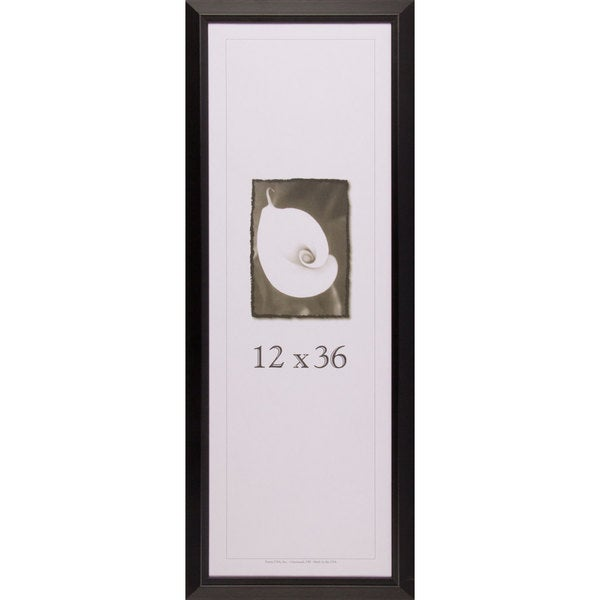 picture frame 12 inches x 36 inches narrow black picture frame 12 ...