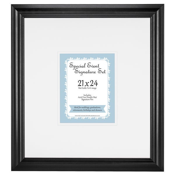 Special Event Signature Matte set for 11x14 photo