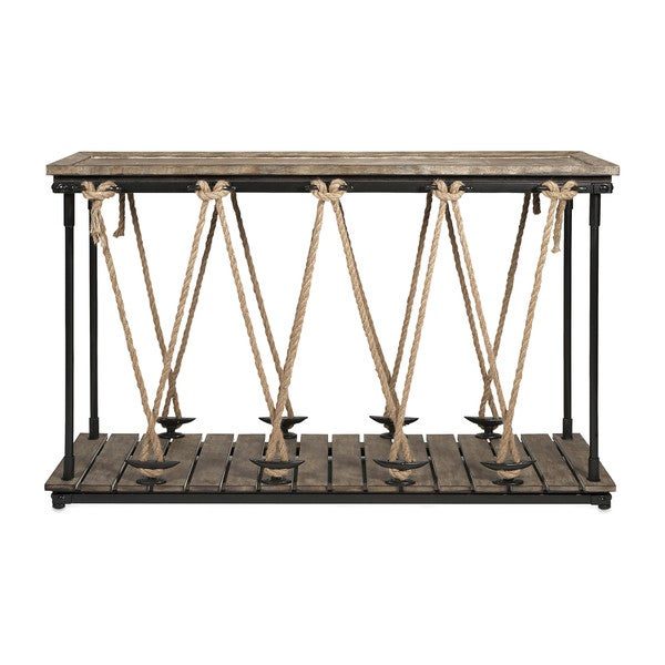 Astern Rope Console Table