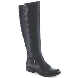 Machi Lily-1 Women's Knee High Quilted Riding Boots