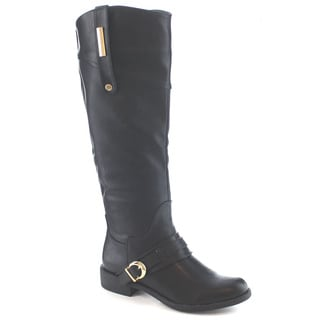 Machi Lily Women's Classic Knee High Flat Riding Boots