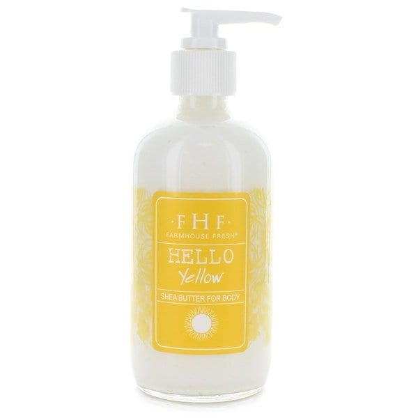FarmHouse Fresh Hello! Yellow Shea 8-ounce Butter Cream Pump