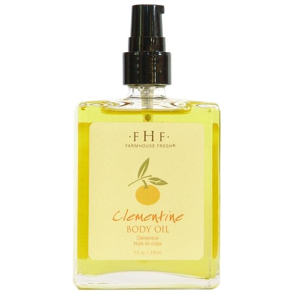 FarmHouse Fresh Clementine 4-ounce Body Oil