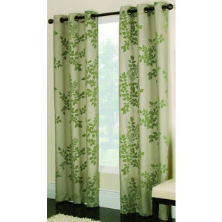 Miller Curtains Simsbury Green 95-inch Grommet Panel