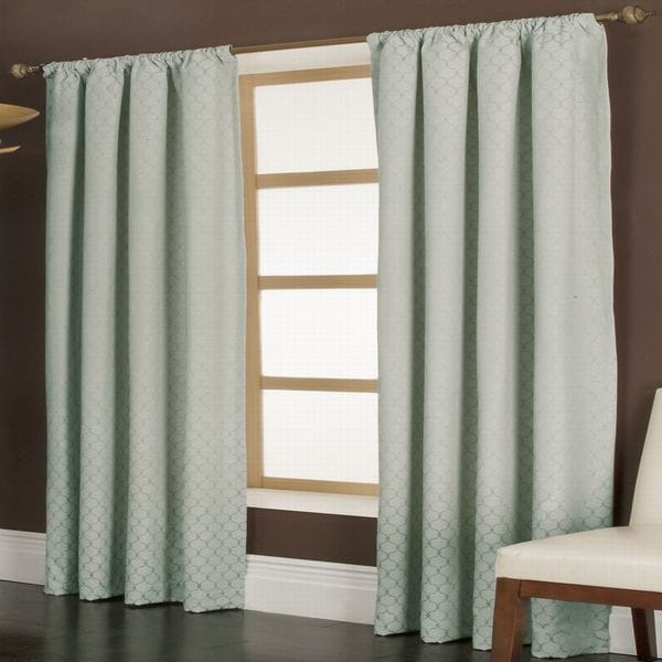 Miller Curtains Penwood Blue 84-inch Panel