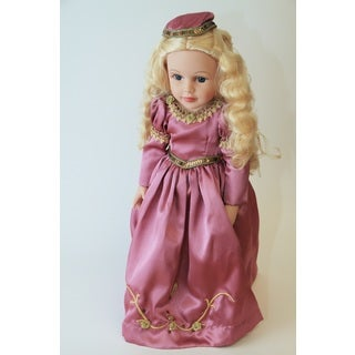 Deluxe Once Upon a Time Storybook Sleeping Beauty Doll