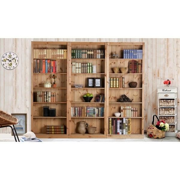 Anita Solid Pine Bookcase